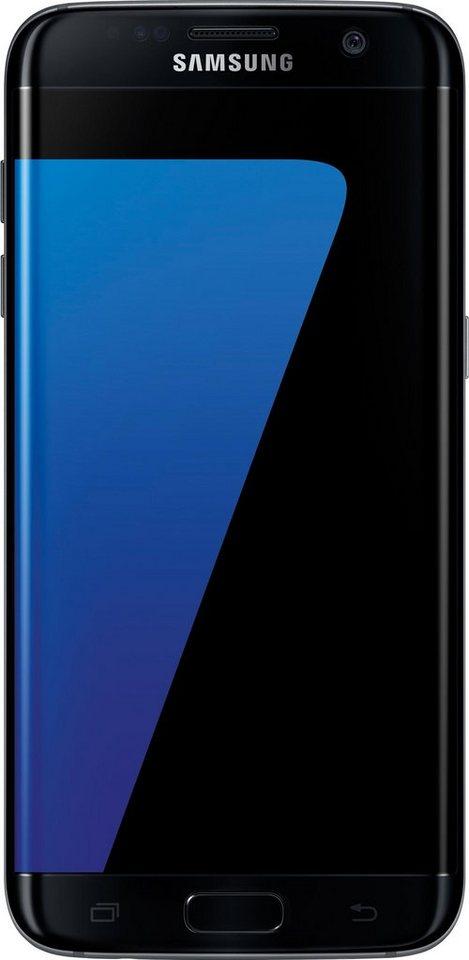 Samsung Galaxy S7 edge Smartphone, 13,9 cm (5,5 Zoll) Display, LTE (4G), mit 3 Jahren Garantie in schwarz