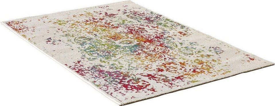 Teppich, Impression, »Vintage 1607«, gewebt in weiss bunt