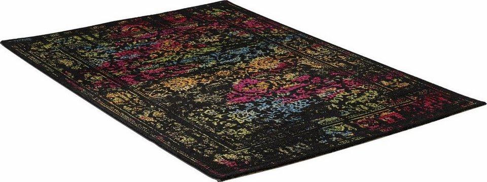 Teppich, Impression, »Vintage 1608«, gewebt in schwarz