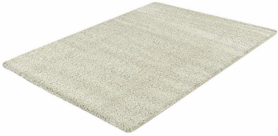 Hochflor-Teppich, Impression, »Himalaya«, Höhe 50 mm, gewebt in creme