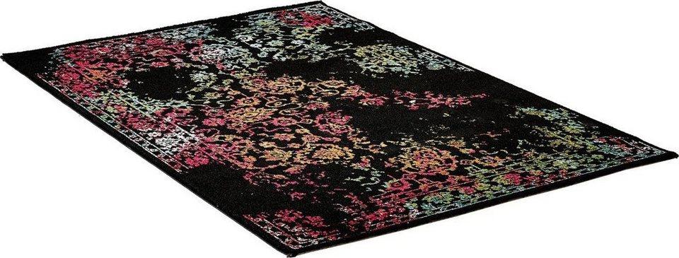 Teppich, Impression, »Vintage 1609«, gewebt in schwarz