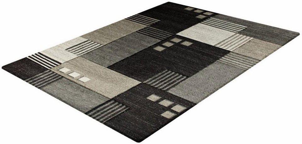 Teppich, Impression, »Sumatra 1501«, gewebt in dunkelbraun