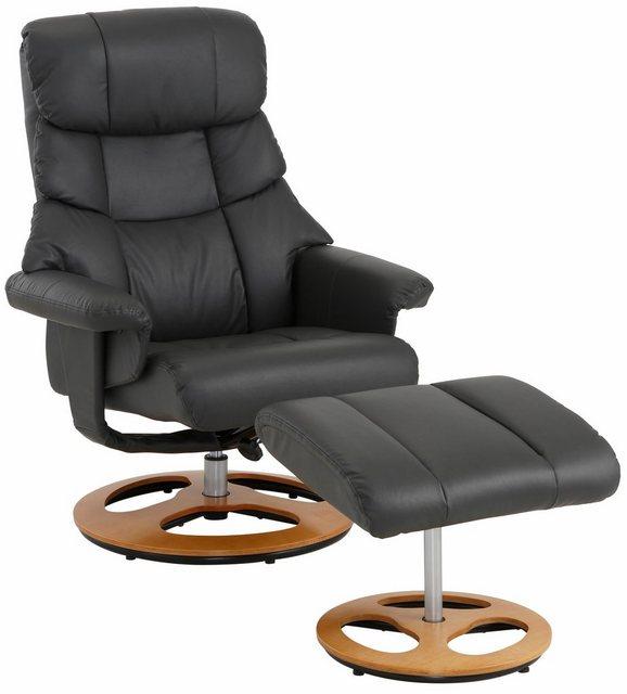Sessel und Hocker - Home affaire Relaxsessel »Toulon« (2 tlg., Bestehend aus Sessel und Hocker), inklusive Hocker, mit manueller Relaxfunktion, Sitzhöhe 45 cm  - Onlineshop OTTO