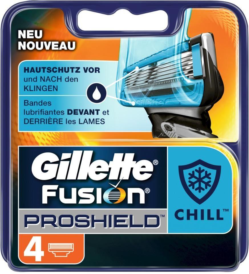 Gillette, »Fusion ProShield Chill«, Rasierklingen