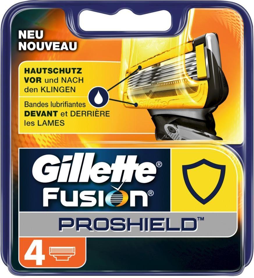 Gillette, »Fusion ProShield Hautschutz«, Rasierklingen