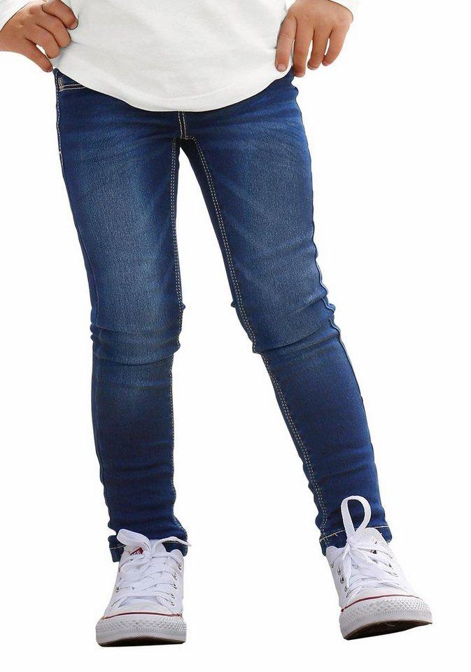 s.Oliver RED LABEL Junior Slim-fit-Jeans in blue
