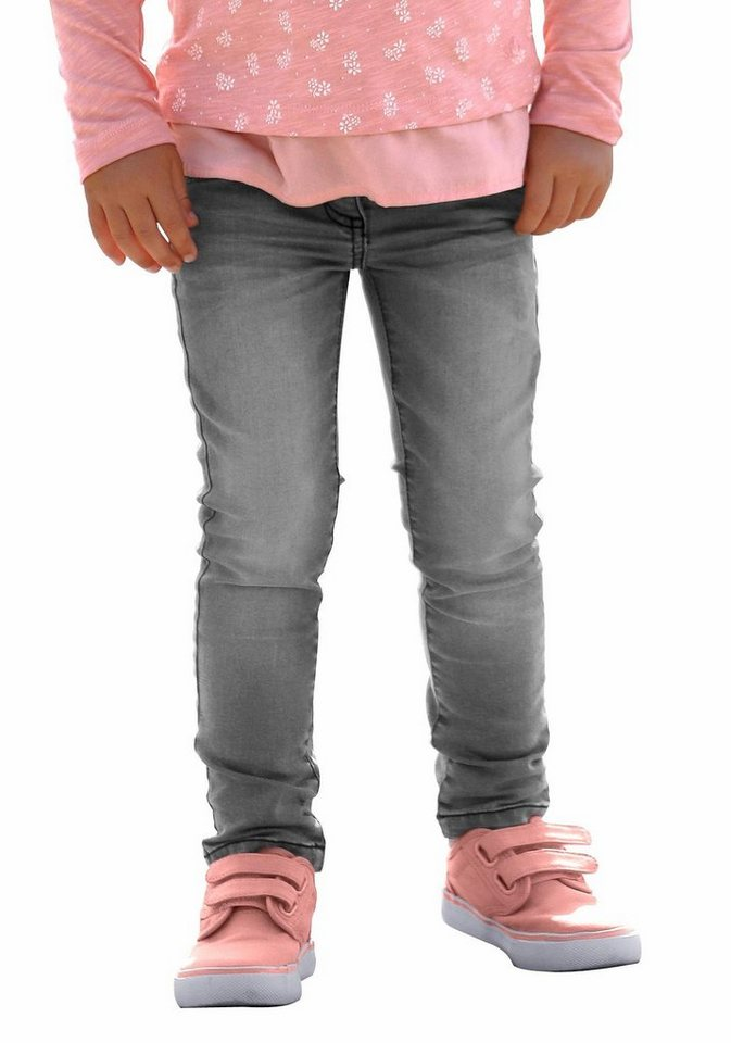 s.Oliver RED LABEL Junior 5-Pocket-Jeans in grau