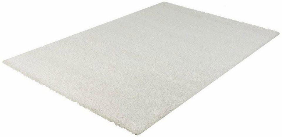 Hochflor-Teppich, Impression, »Kenitra«, Höhe 30 mm, gewebt in creme