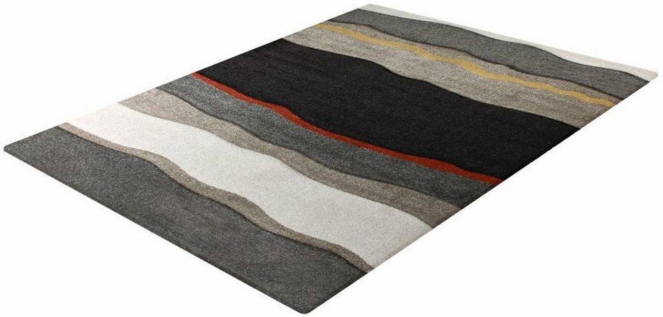 Teppich, Impression, »Sumatra 1507«, gewebt in dunkelbraun