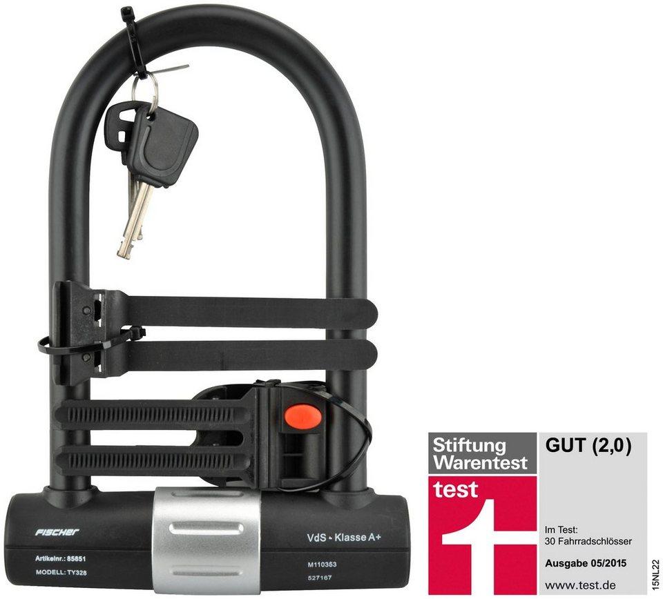 fischer fahrraeder b gelschloss safe ty328 otto. Black Bedroom Furniture Sets. Home Design Ideas