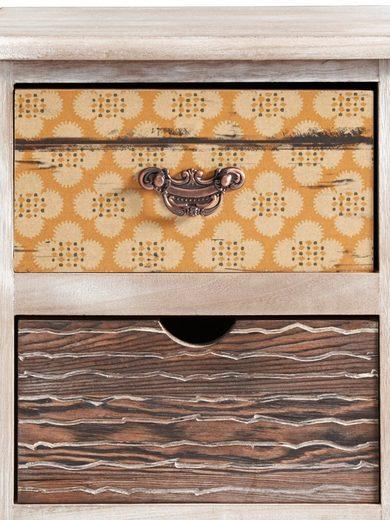 heine home Kommode aus massivem Holz