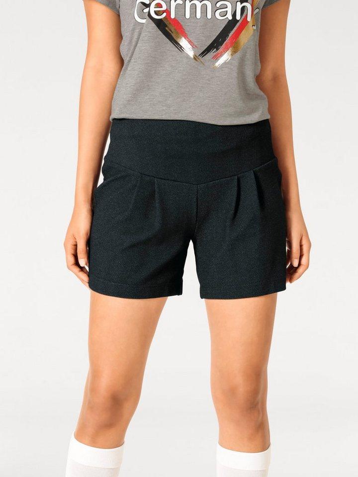 ASHLEY BROOKE by Heine Bodyform-Shorts mit Bauch-weg-Funktion in schwarz