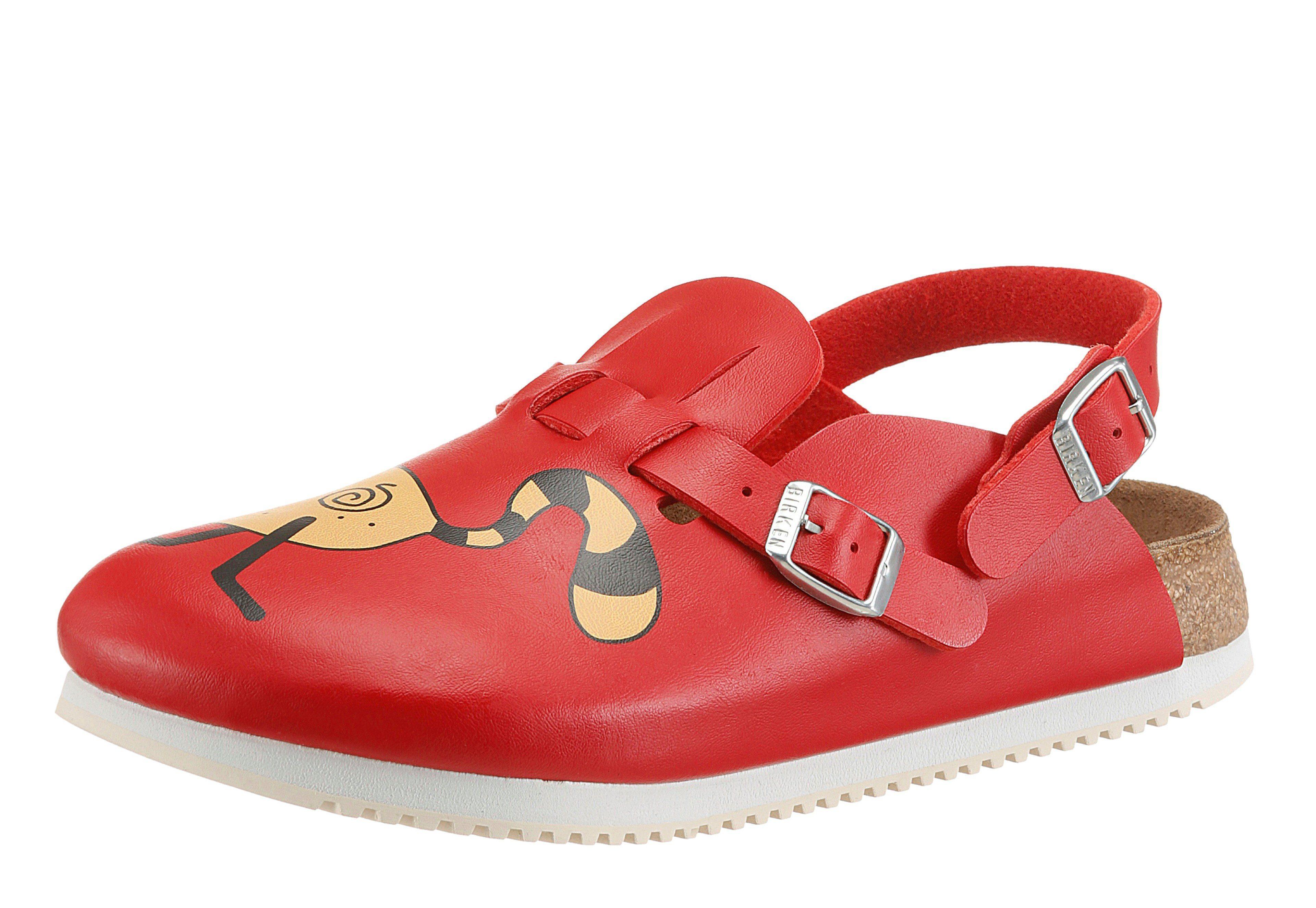 Birkenstock KAY SL Clog, umklappbarer und verstellbarer Fersenriemen online kaufen  rot-bunt