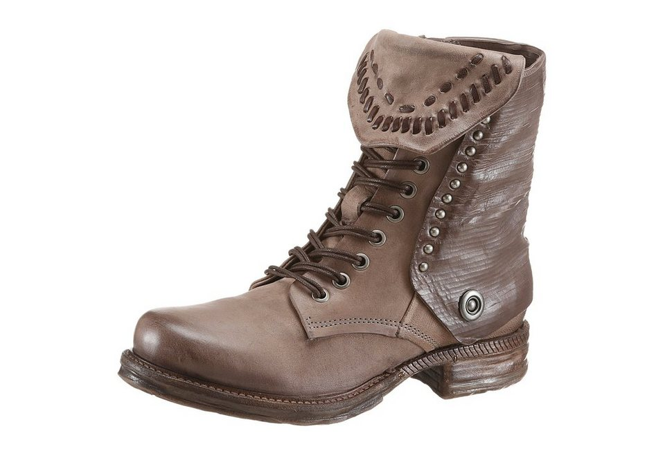 A.S.98 Schnürboots in taupe