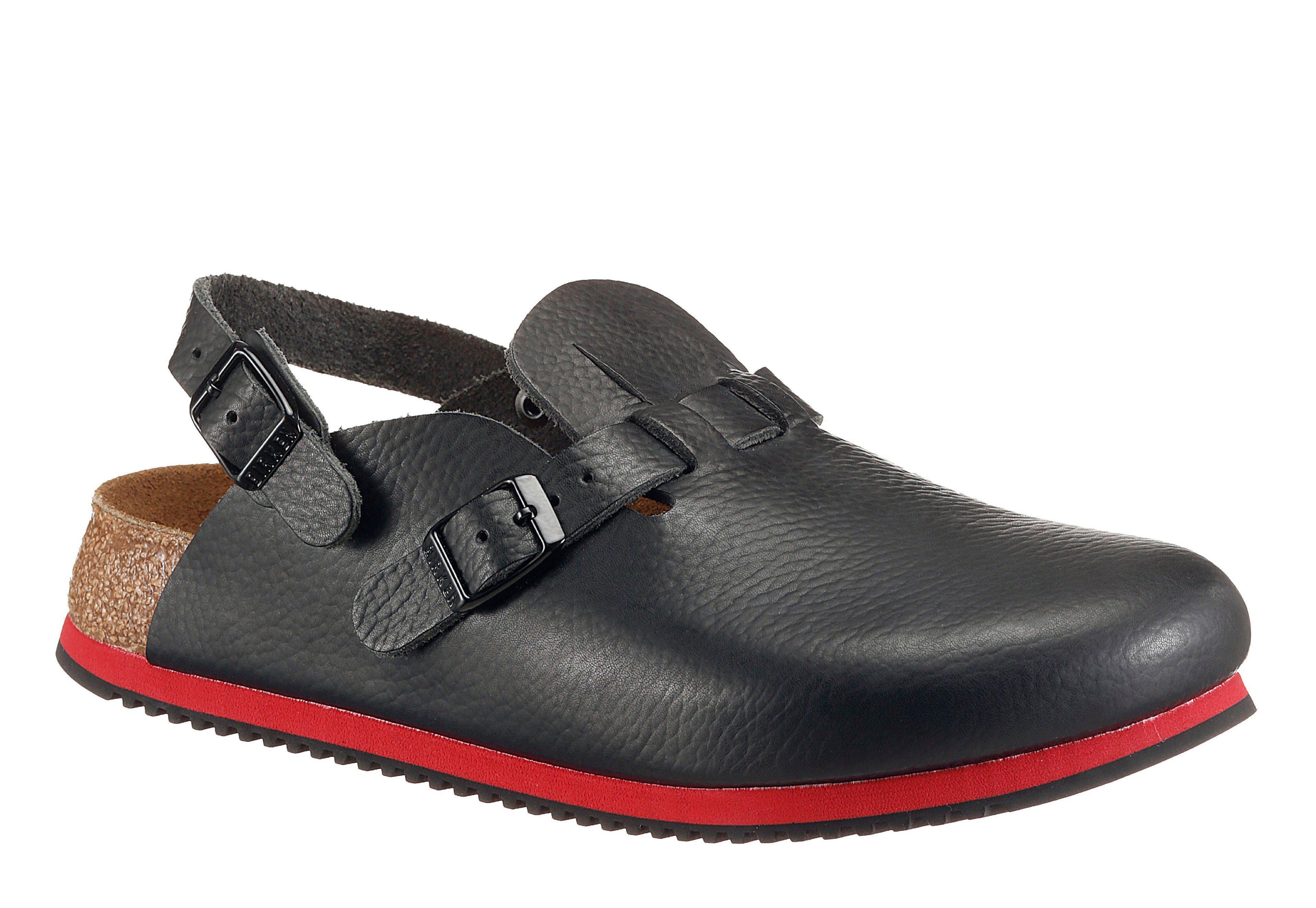 BIRKENSTOCK Clog rot / schwarz GUx6LBc
