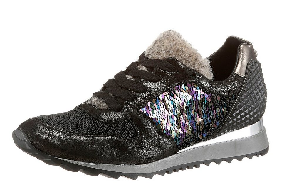 Donna Carolina Sneaker in schwarz-multi