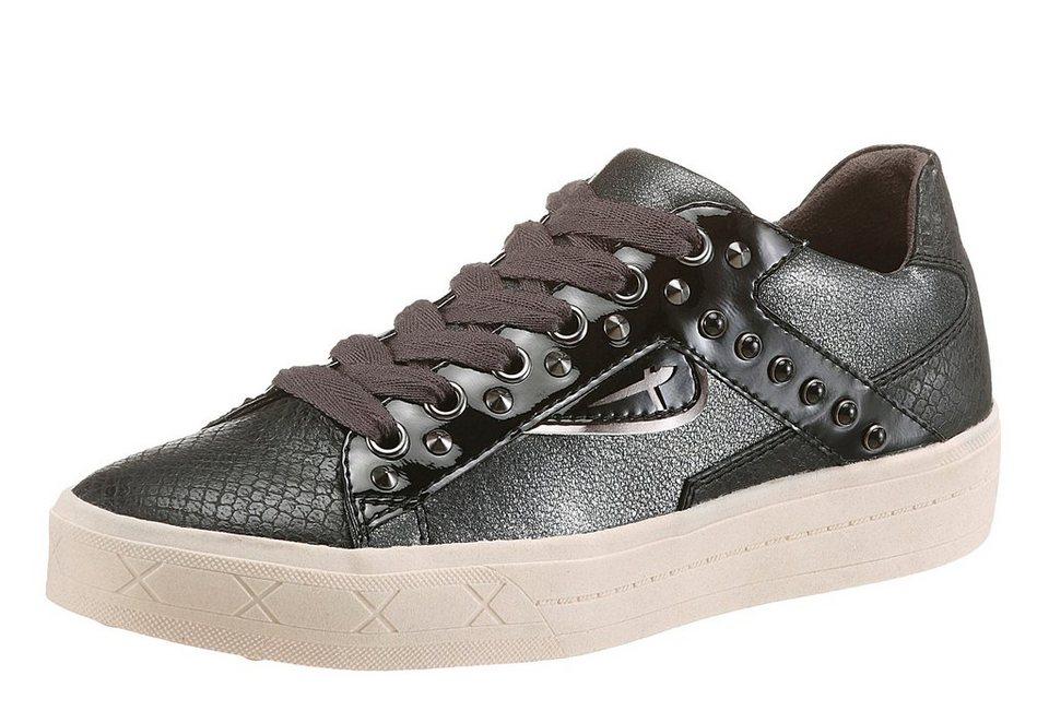Tamaris Sneaker in schwarz