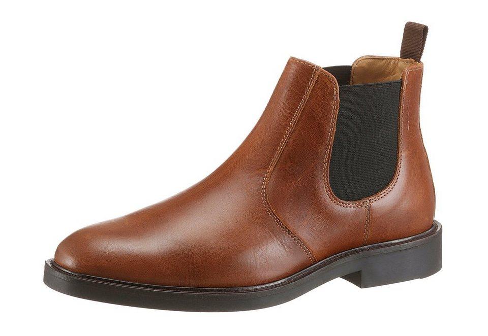 Gant Footwear »Spencer Chelsea« Chelseaboots in cognac