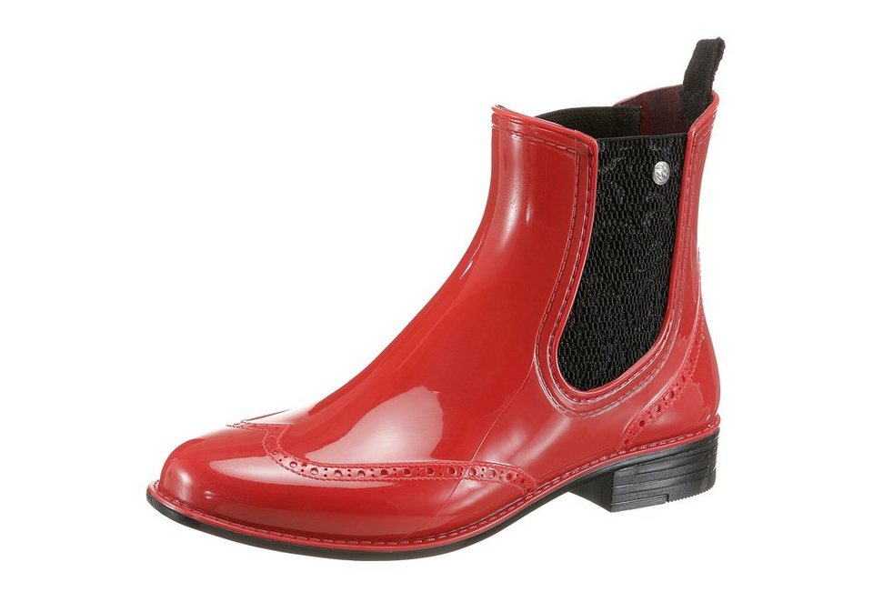 GOSCH SYLT Chelseaboots in rot