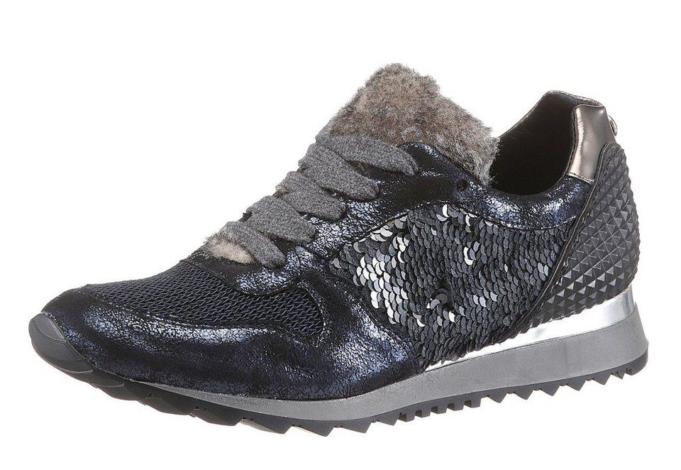 Donna Carolina Sneaker in dunkelblau-schwarz