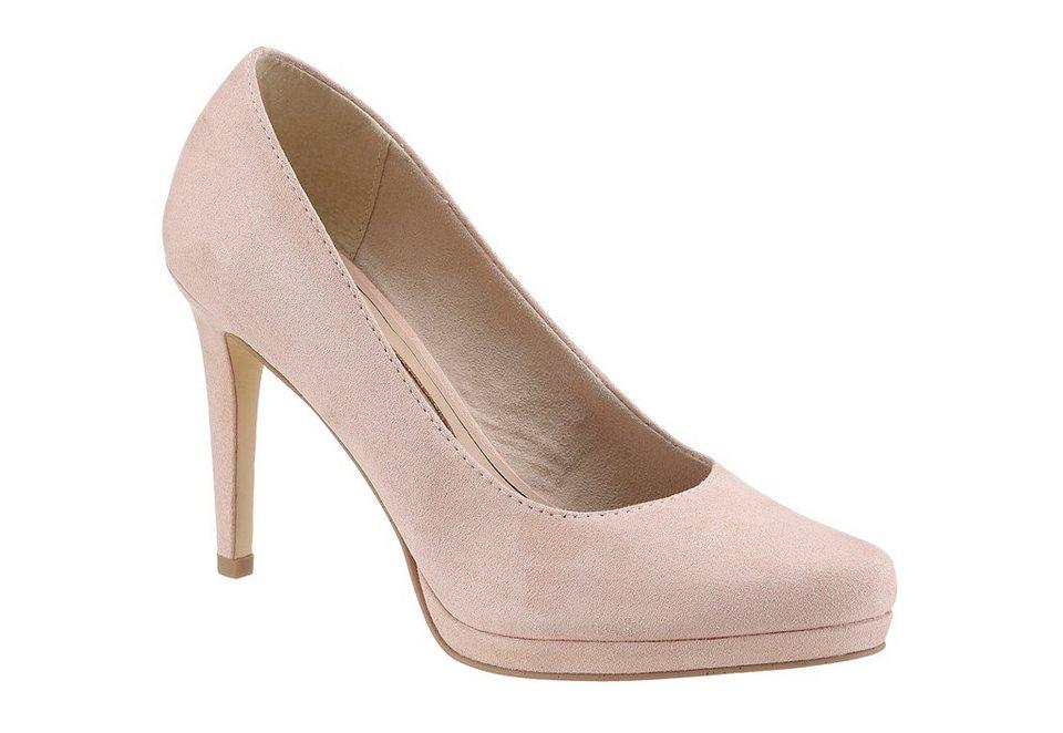 Tamaris High-Heel-Pumps in rosé