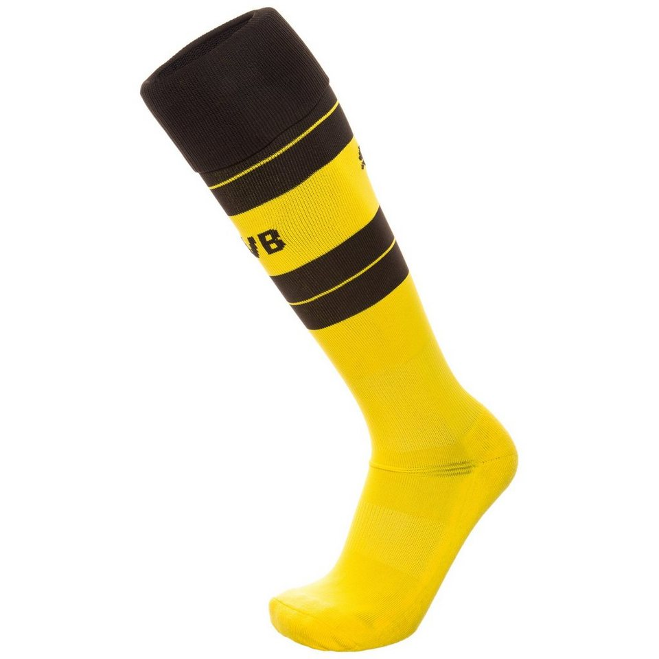 PUMA Borussia Dortmund Stutzen Home 2016/2017 Herren in gelb / schwarz