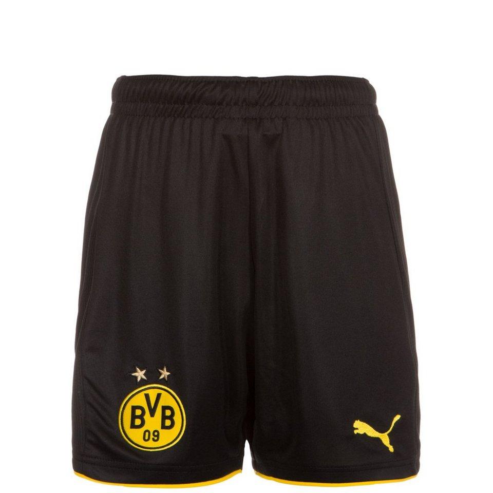 PUMA Borussia Dortmund Short Home 2016/2017 Kinder in gelb / schwarz