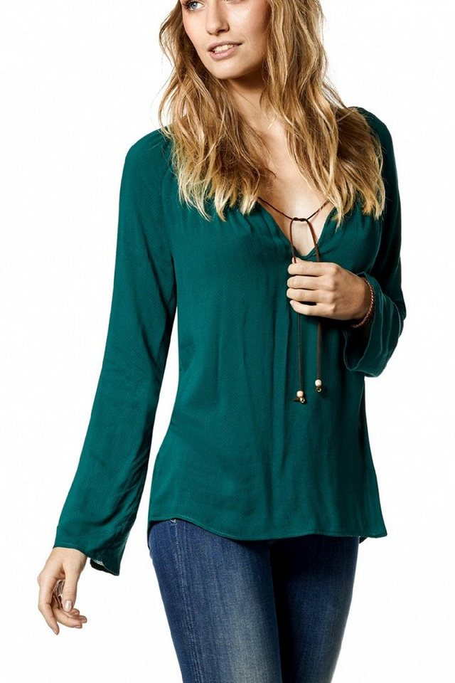 salsa jeans Bluse »GREECE« in Green
