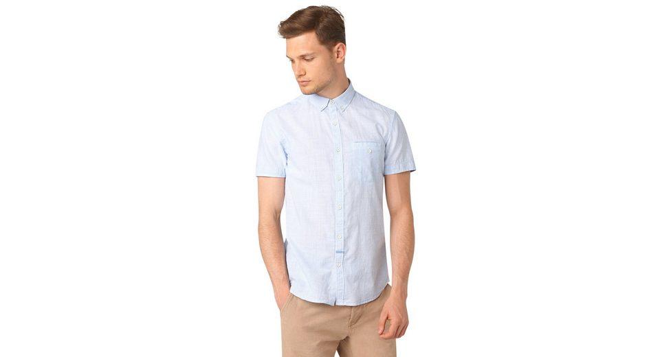 TOM TAILOR DENIM Hemd »ministripe short sleeve shirt«