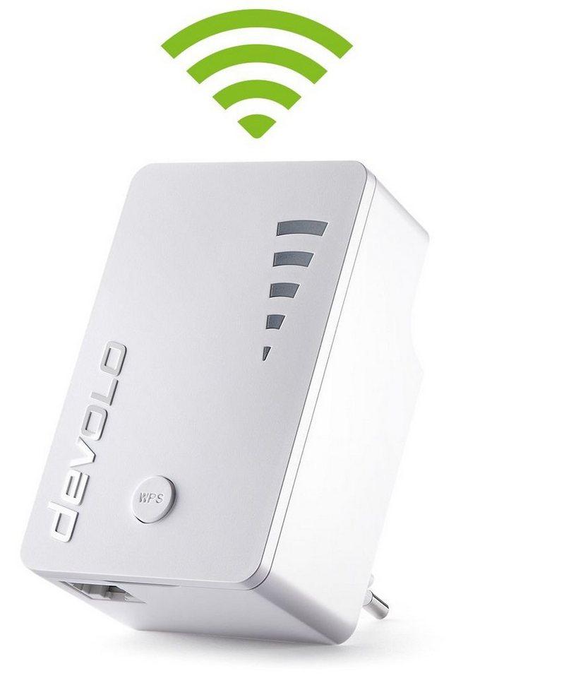 DEVOLO WLAN »WiFi Repeater ac 1200Mbit,1xGB LAN,WPS,Verstärker« in weiß