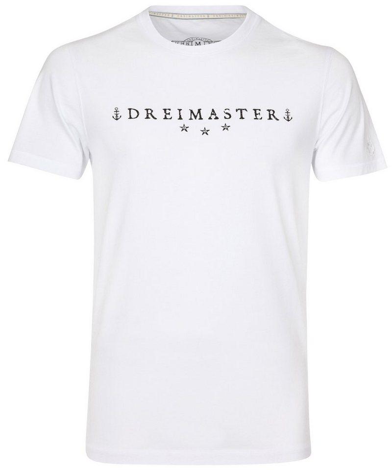DREIMASTER T-Shirt in weiß