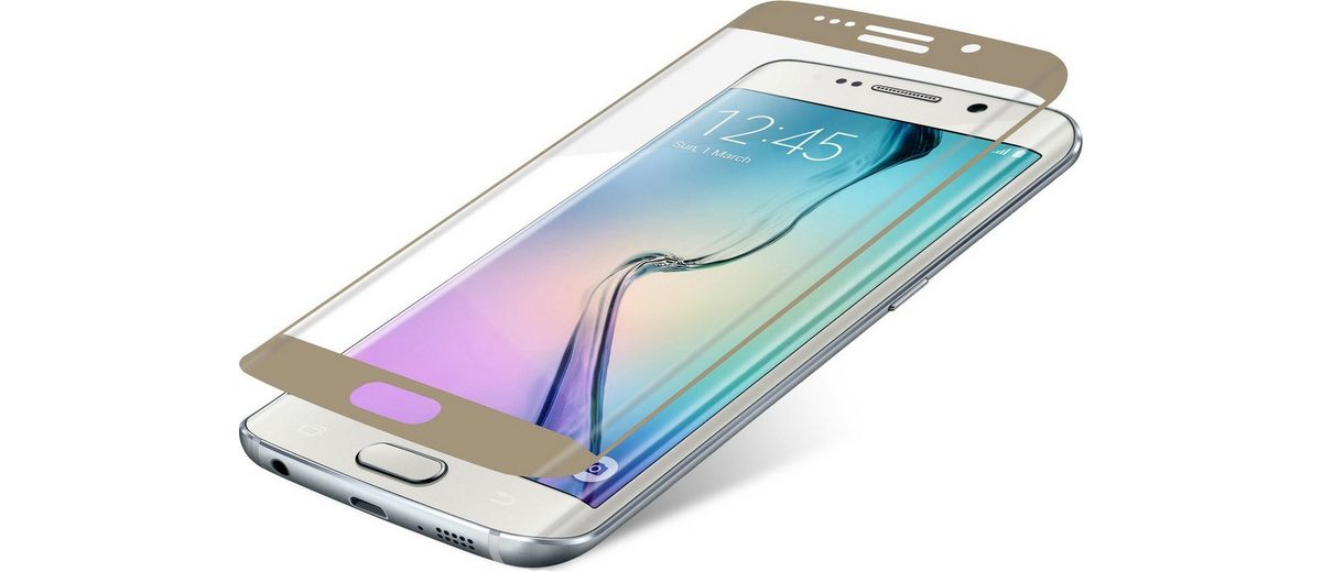 invisibleSHIELD Folie »Contour Glass für Galaxy S6 edge«