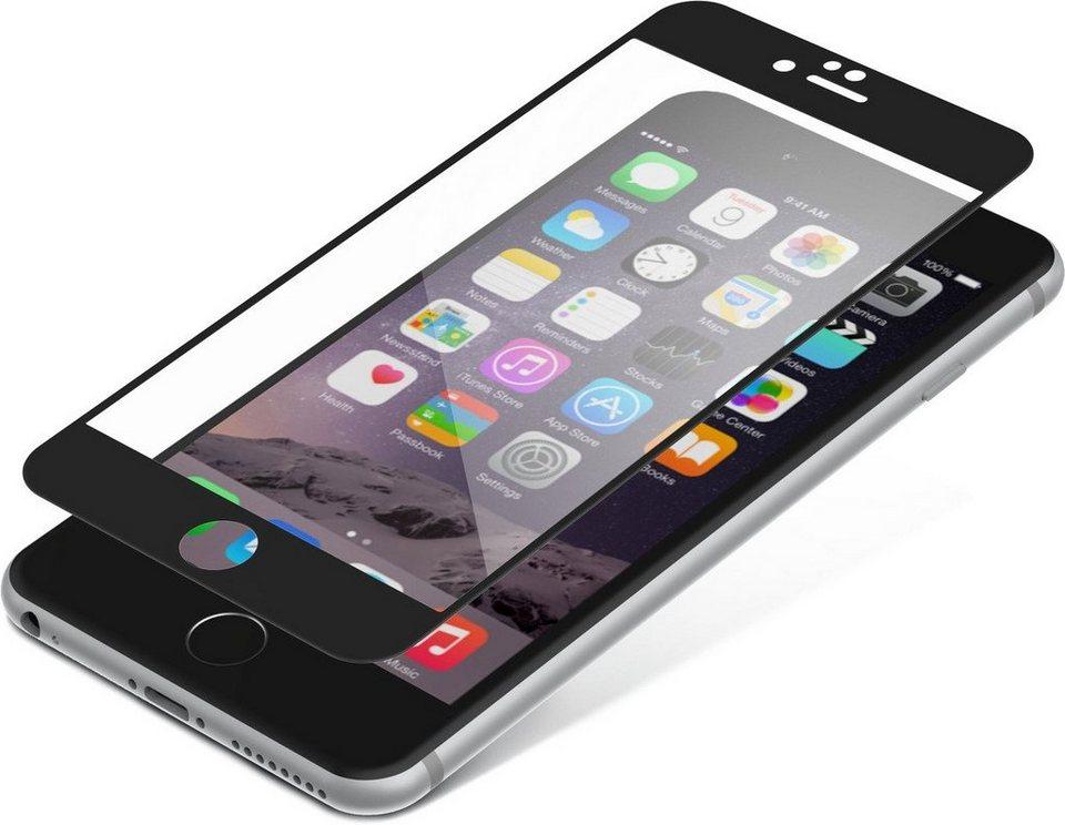 invisibleSHIELD Folie »Contour Glass für iPhone 6+/ 6S+« in Schwarz-Transparent
