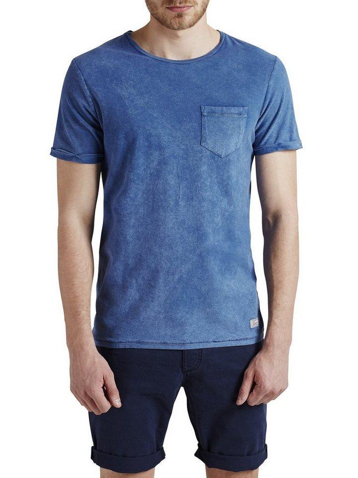 Jack & Jones Färb-Effekt T-Shirt in Federal Blue