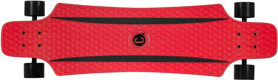 Choke Longboard, »Long John Red« in rot