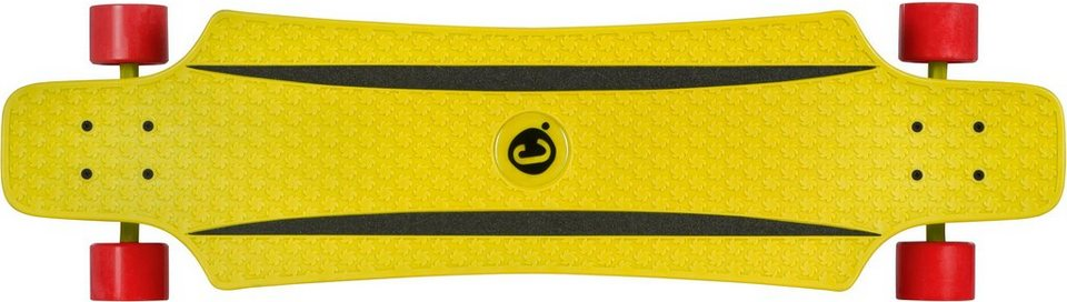 Choke Longboard, »Long John Yellow« in gelb