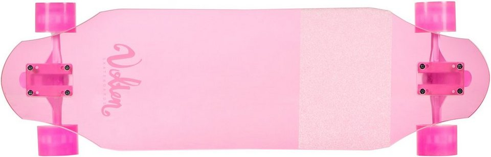 Volten Longboard, »Freeride Ice Pink« in pink