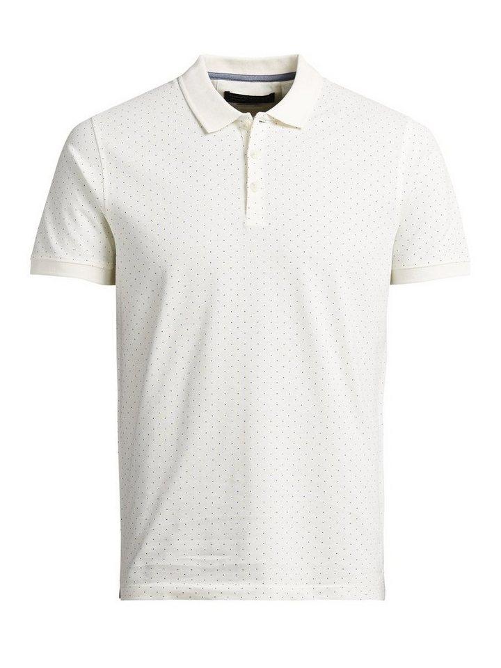 Jack & Jones Neuartiges Poloshirt in Egret 2