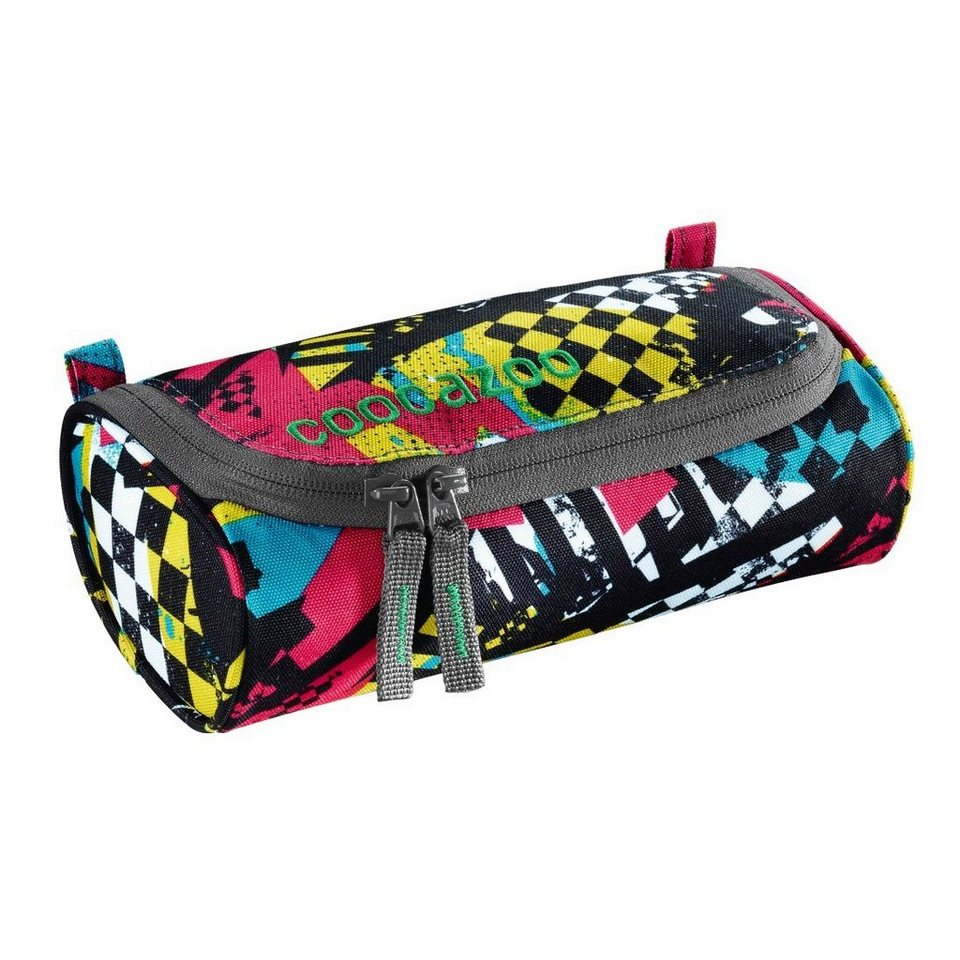 Coocazoo Schlamperetui RollerCoaler, Checkered Bolts
