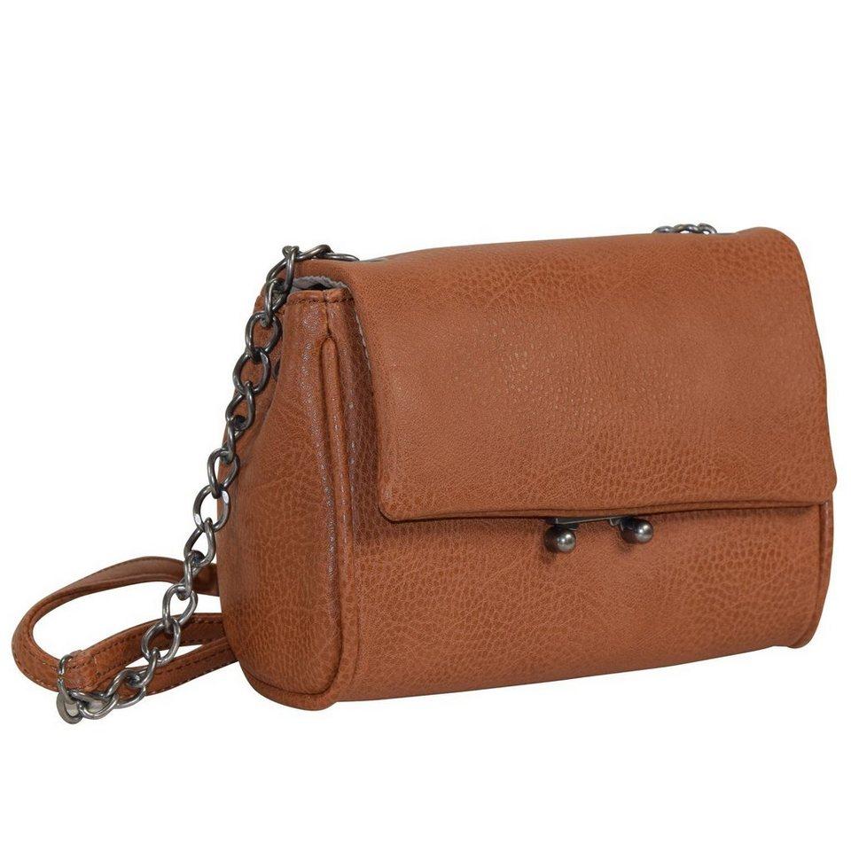 tamaris Clarence Mini Bag Umhängetasche 18 cm in cognac