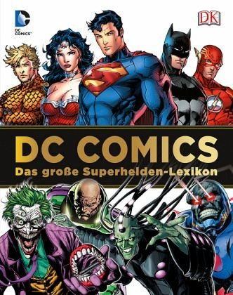 Gebundenes Buch »DC Comics Das große Superhelden-Lexikon«