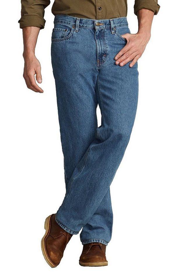 Eddie Bauer Classic Fit Jeans in Medium Stonewashed