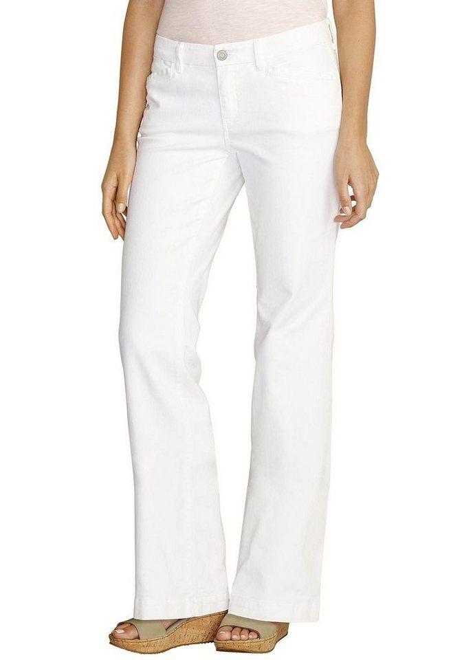 Eddie Bauer Trouser Leg Jeans in Weiß
