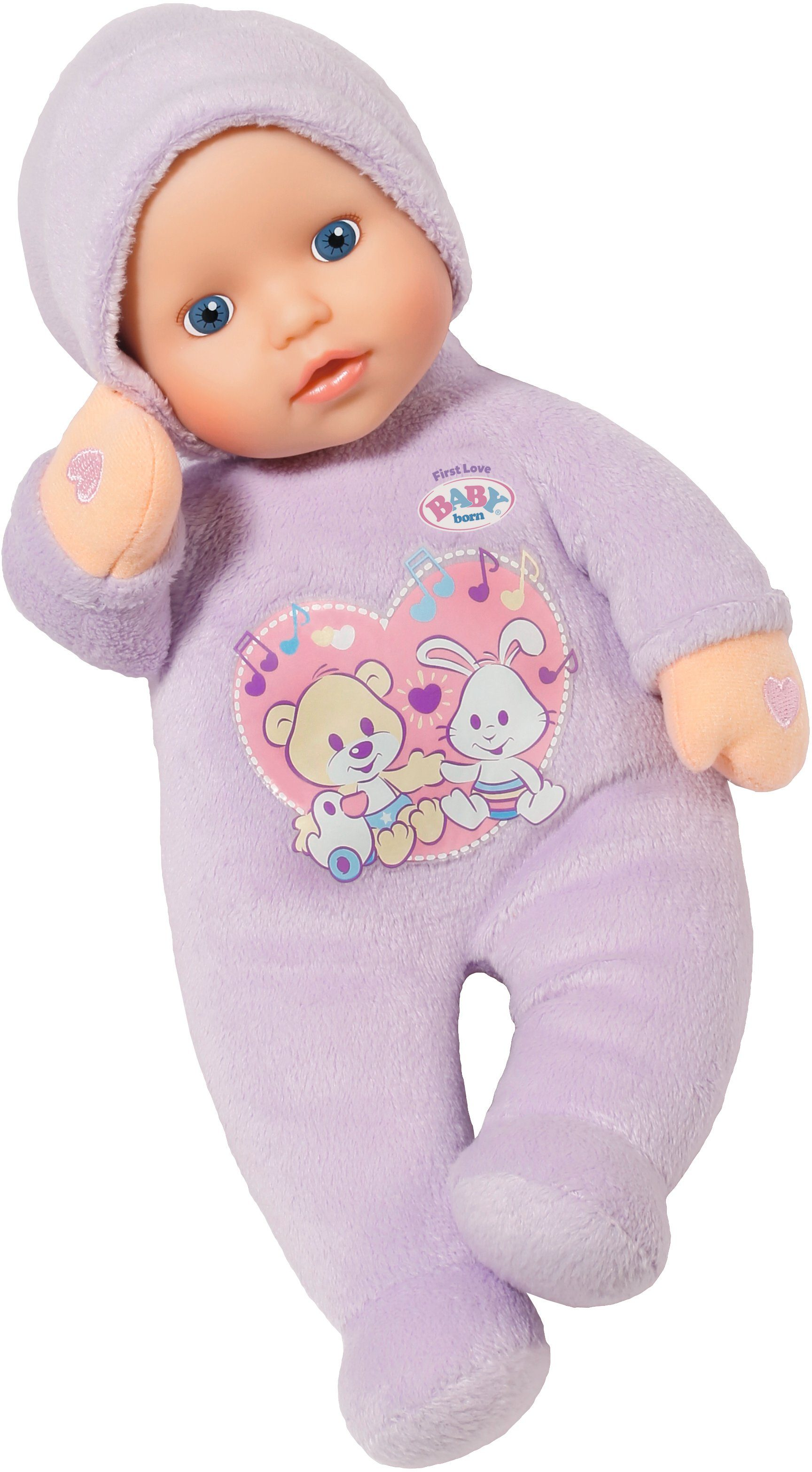 Zapf Creation Puppe mit Schlaflied Funktion, »BABY born® First Love Hold My Hands«