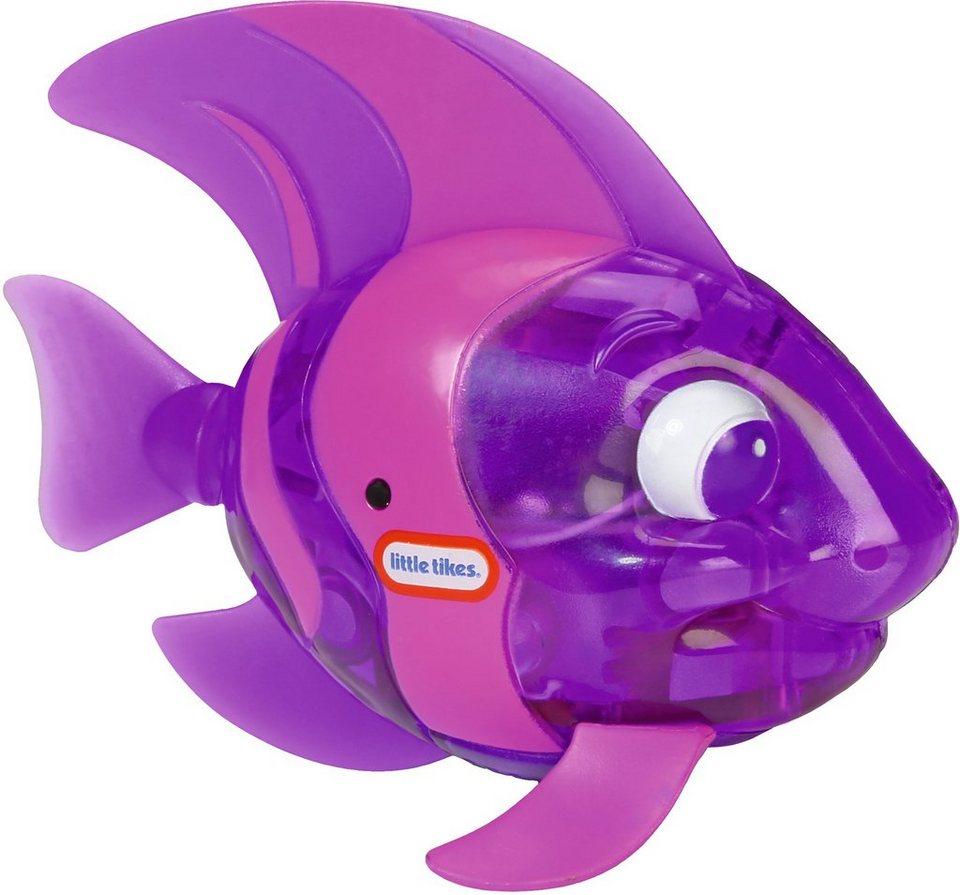 Little Tikes Badespielzeug mit Flossenbewegungen, »Sparkle Bay Funkelfisch lila«
