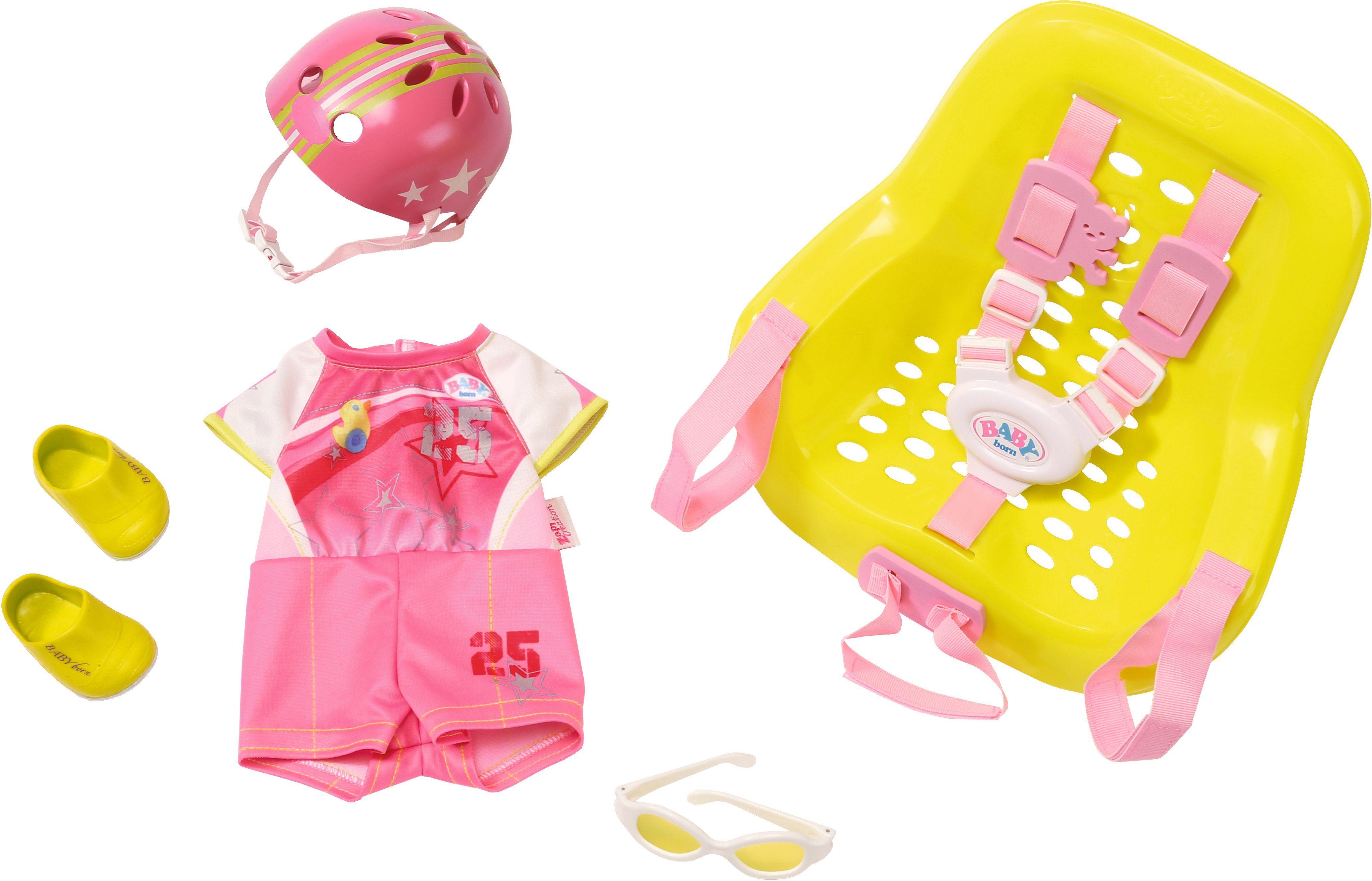 Zapf Creation Puppen Fahrradzubehör, »BABY born® Happy Birthday Bike Set«