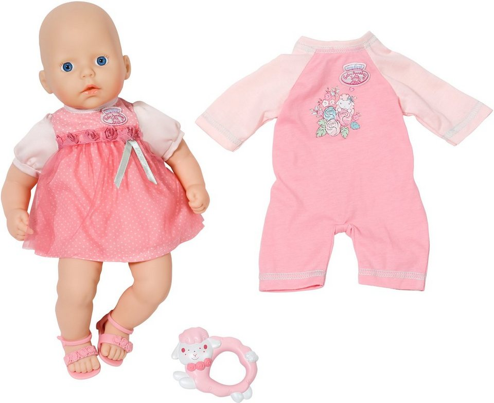 Zapf Creation Babypuppe mit Accessories, »My First Baby Annabell® Rosen Set«
