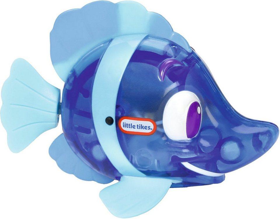 Little Tikes Badespielzeug mit Licht und Bewegungen, »Sparkle Bay Funkelfisch blau«