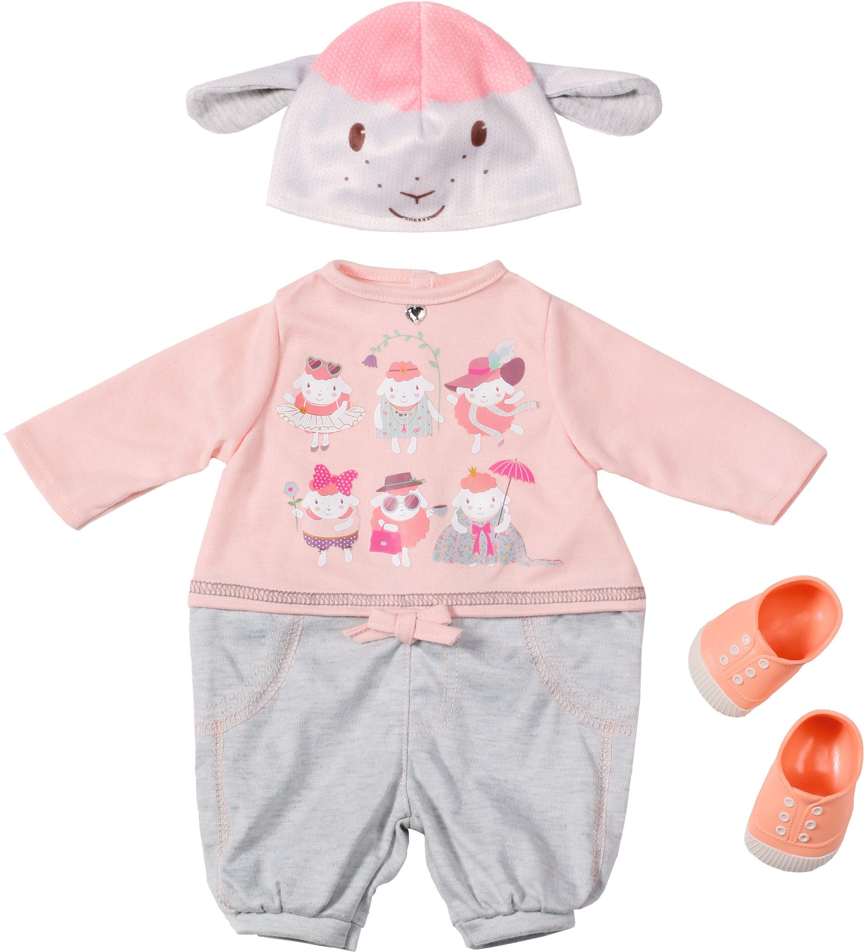 Zapf Creation Puppenkleidung Größe 46 cm, »Baby Annabell® Deluxe Set Lässig & Chic«