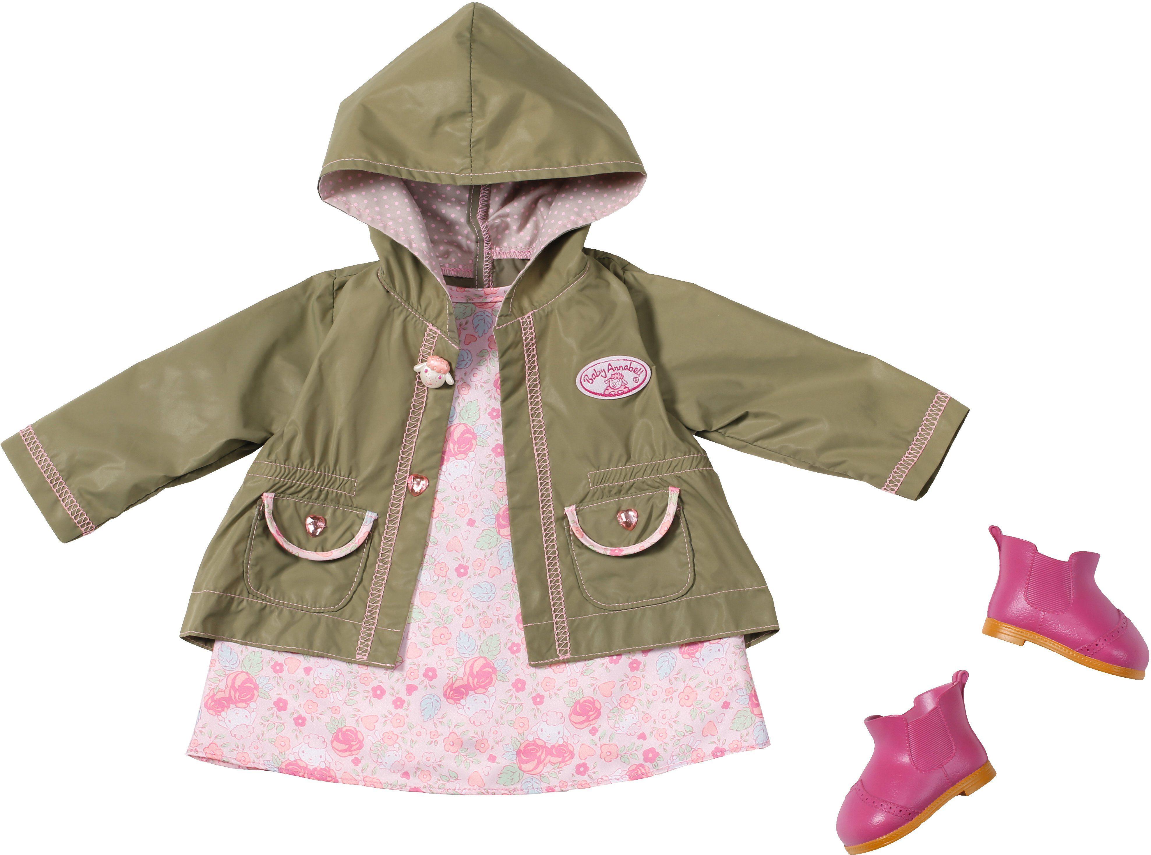 Zapf Creation Puppenkleidung Größe 46 cm, »Baby Annabell® Deluxe Set Outdoor Spaß«